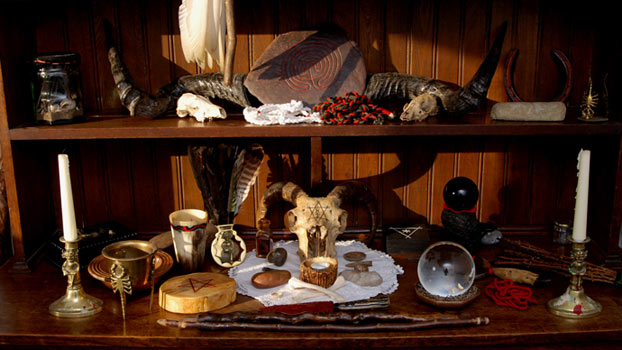 Altar wicca - Spells to be a witch